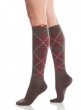 Wool Argyle Brn_Red