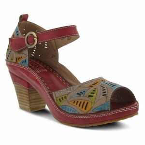 Spring Step Avelle Red Multi