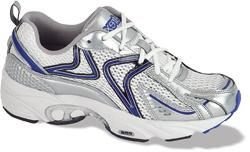 Aetrex Zoom Runner White Blue