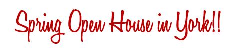 Open house york