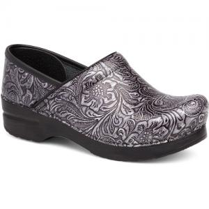 Dansko Professional Grey Tooled